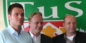 von links: Matthias Klein,Yorck Bergenthal und Mario Ermisch