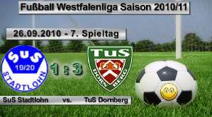 TuSDornberg26092010Stadtlohn